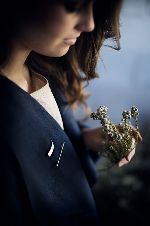 minimalism, brooches and fynbos