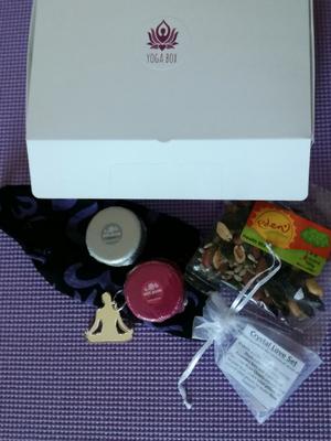 Yogabox July 2017 Namaste gift