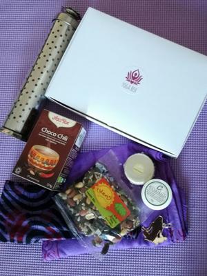 Yogabox July 2017 Savasana Deluxe