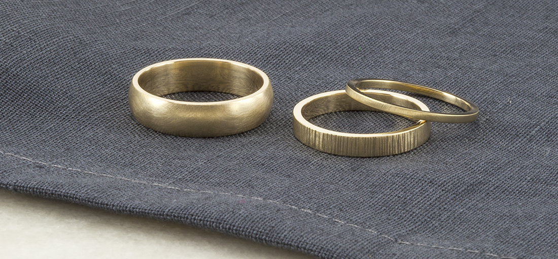 eco wedding rings