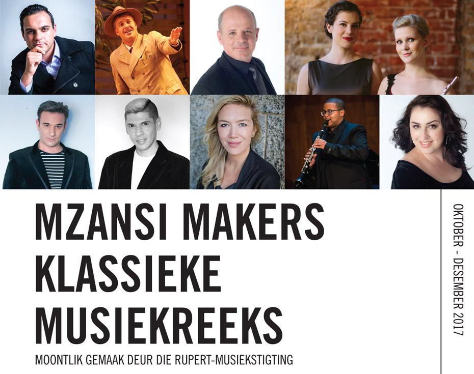 Mzansi Makers Klassieke Musiekreeks 2017