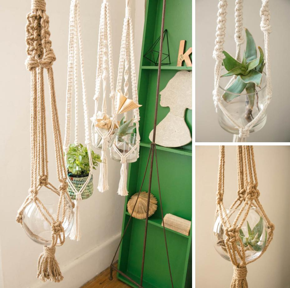 Mzansi Makers creating macrame