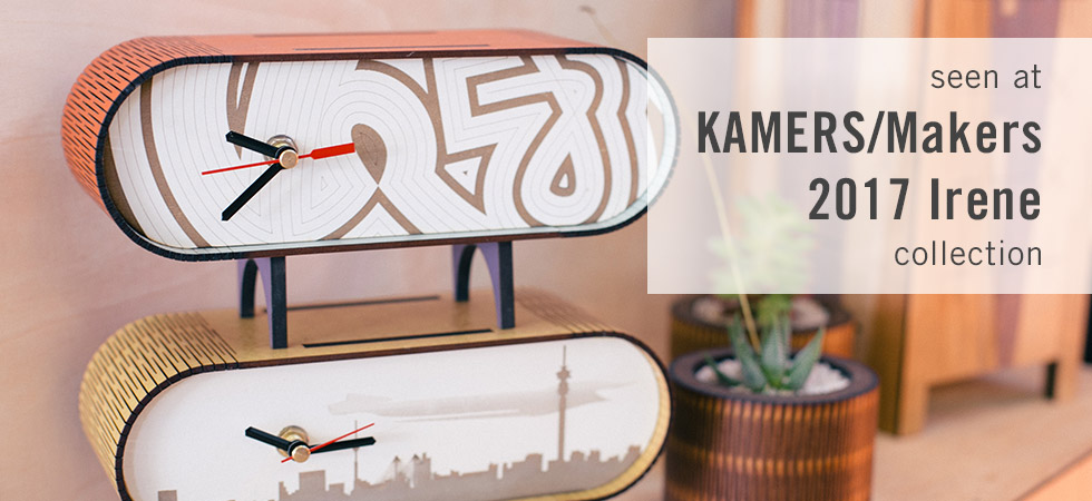 Products from KAMERS/Makers Irene 2017 - shop.kamersvol.com