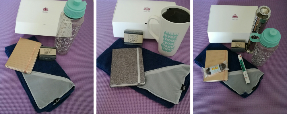 Yogabox - see previous boxes for July