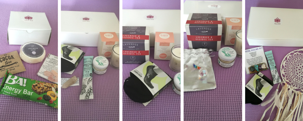 Have a look at August 2018's Yogaboxes
