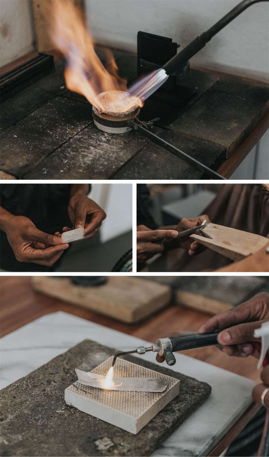Makers Diary- Pouring the upcycled silver ingot