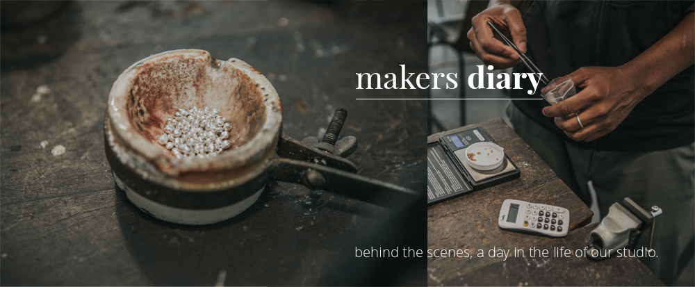 makers diary- Alloying the recycled metal