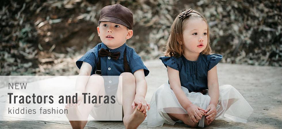 Tractors and Tiaras kiddies fashion online at shop.kamersvol.com