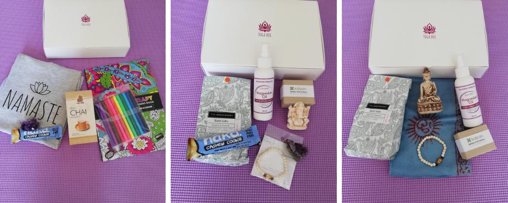 Yogabox previous boxes November 2018