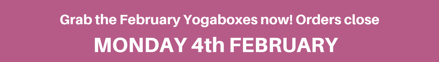 Last day to order your Yogabox for February 2019
