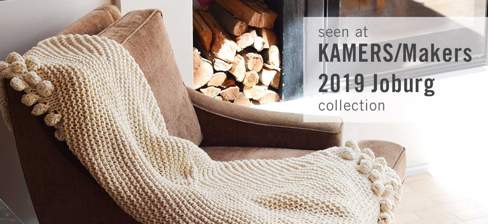 Products from KAMERS/Makers Joburg 2019 available online at shop.kamersvol.com