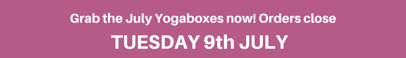 Last day to order your Yogabox for July 2019