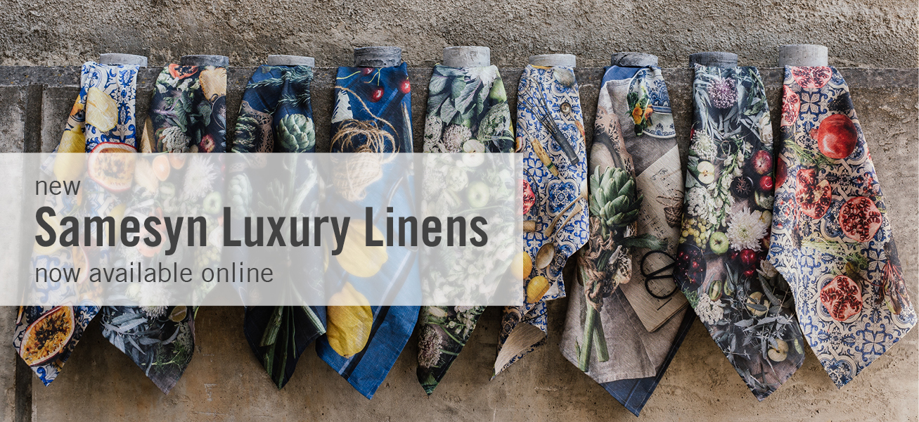 Luxury linens from Samesyn - shop.kamersvol.com