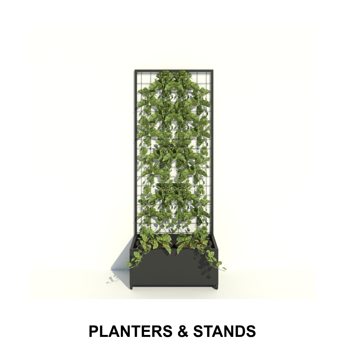 With a powder coated finish our planters can be used indoors as well as outdoors. Planter boxes come with a self watering liner for hassle free maintenance.