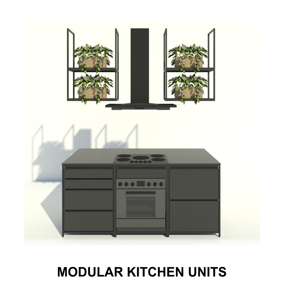 Designed and manufactured as individual units that simply moves into place to create a full layout and design,  also saves time on installation.