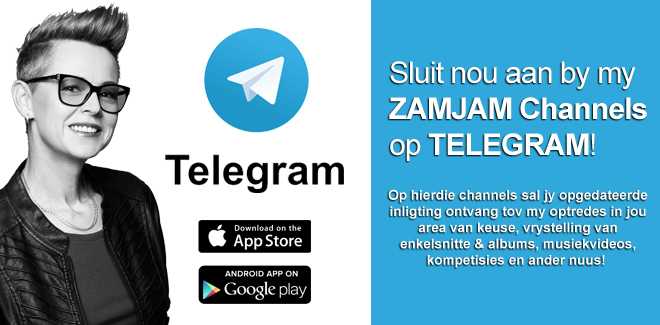 Join my Telegram Channel vir nuus