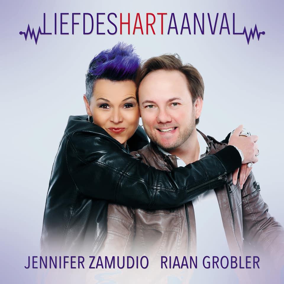 Single Jennifer Zamudio Riaan Grobler Liefdeshartaanval