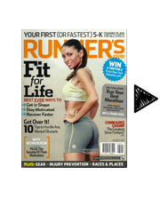 Head On Design Runners World Aug 2011