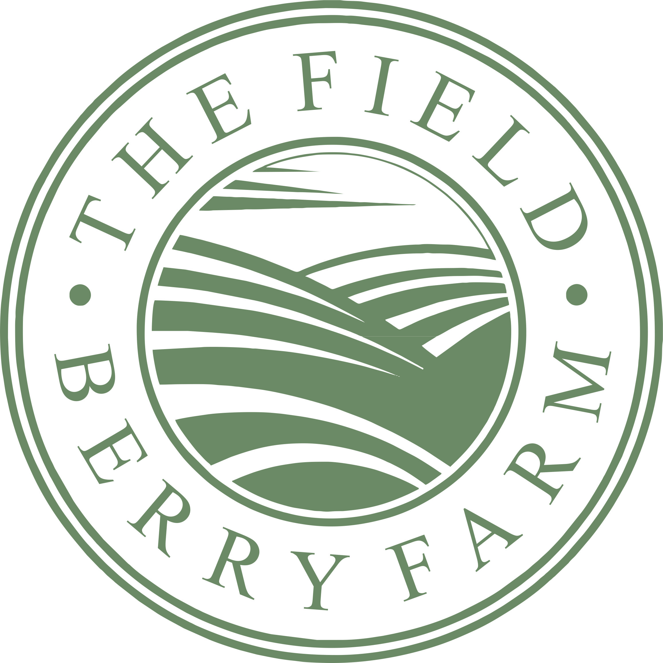 New field berry farm sharp