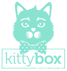 Kittybox logo with slogan 250px