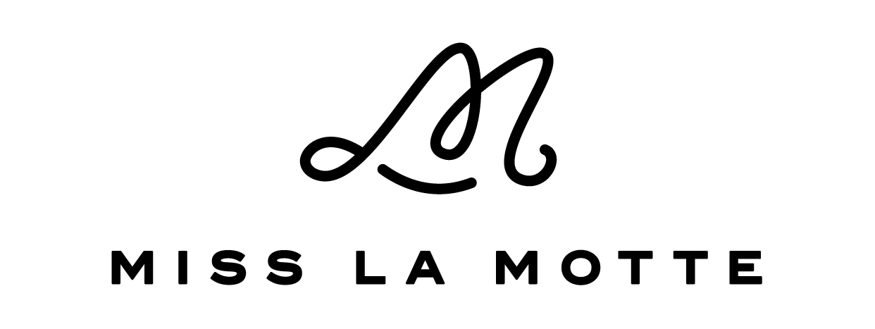 Miss la motte logo black
