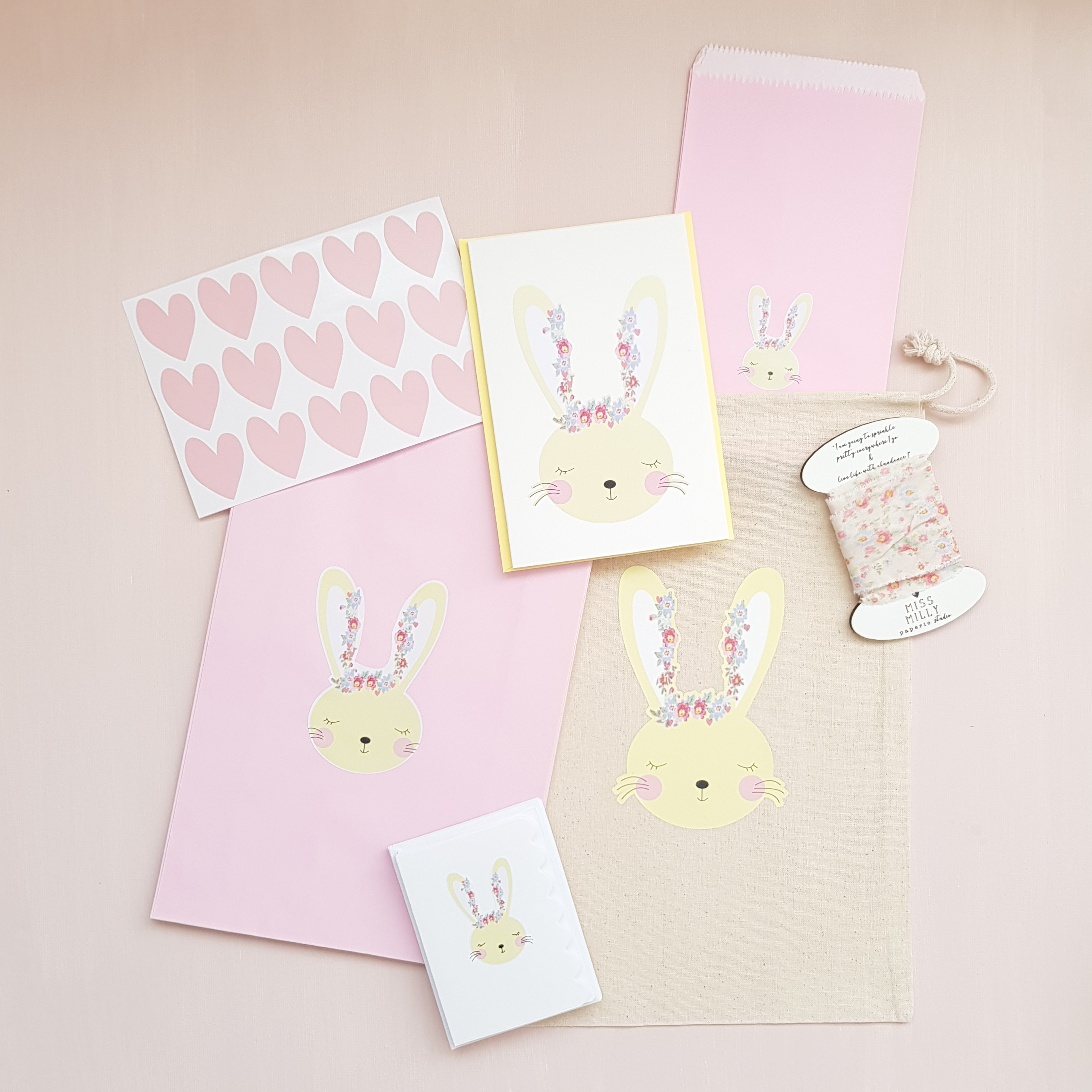 the pretty gift wrapping set