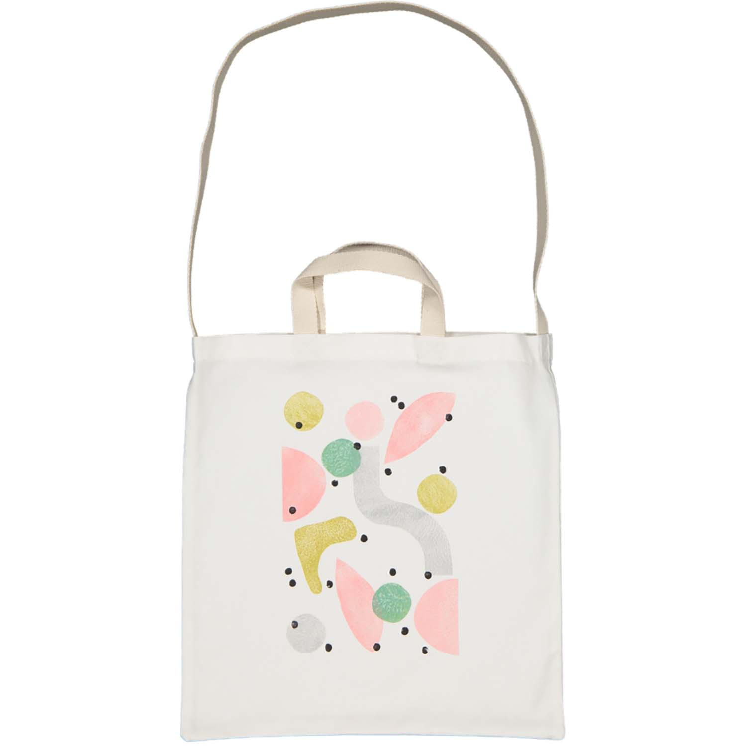 2-Way tote - pastel shapes