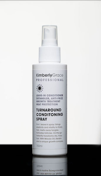 This 5-in-1 luxurious leave-in conditioning spray is both a wearable treatment and an instant beautifier.  It brings suppleness and elasticity to dehydrated hair, eases away tangles and gets active inside the follicle to accelerate new growth. Can also be used while on-the-go to instantly transform a dry, frizzy appearance. Formulation includes Vitamin B, Marula Oil, Keratin and a unique growth-accelerating complex.