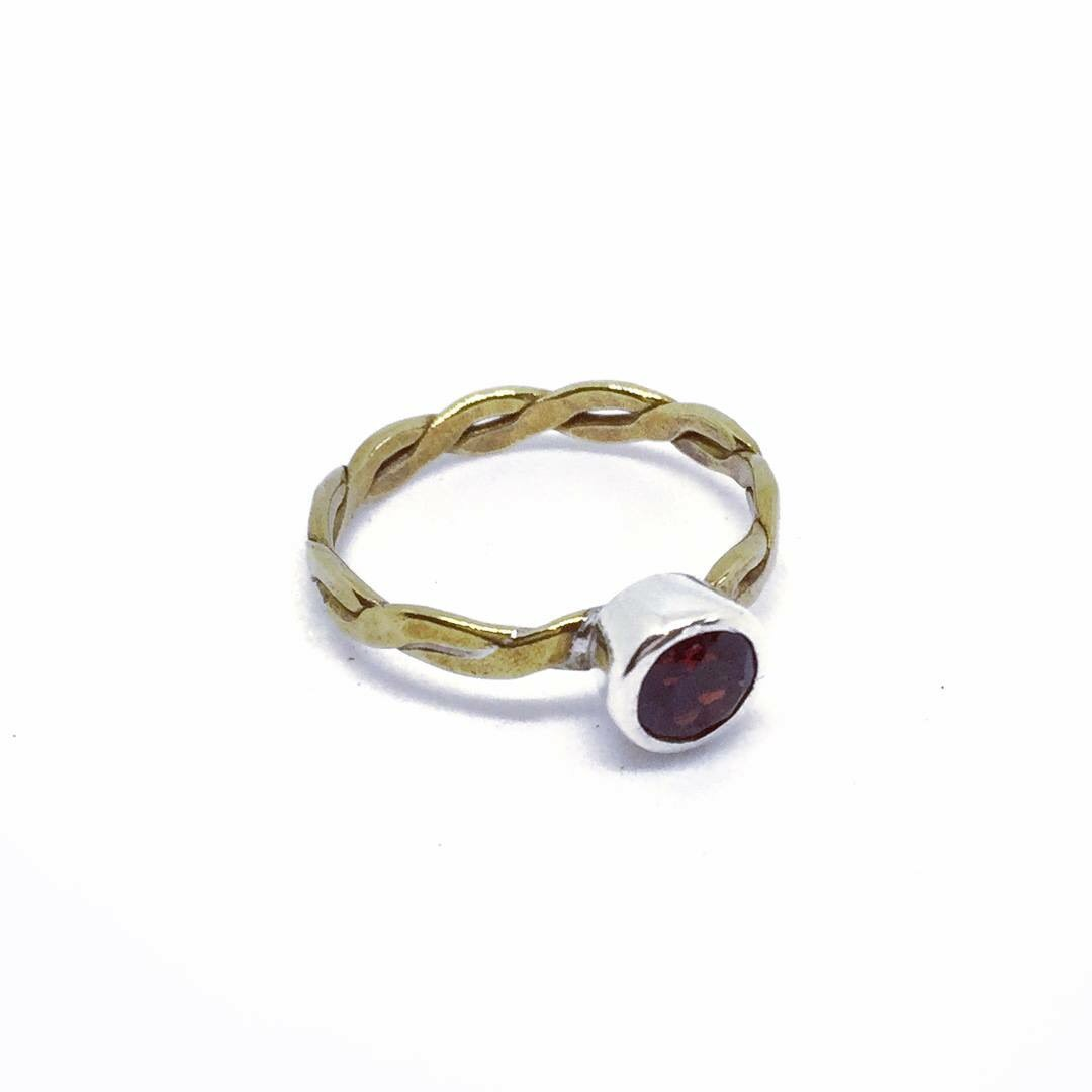 Katie Garnet Ring