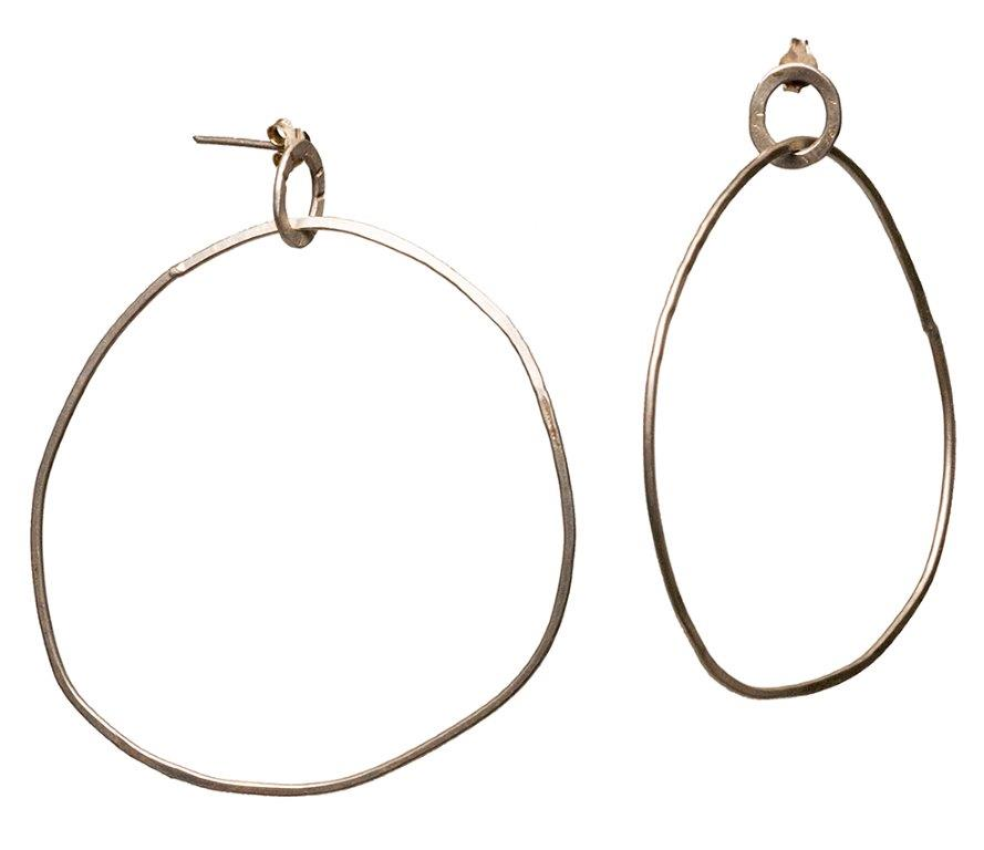 hoops with studds