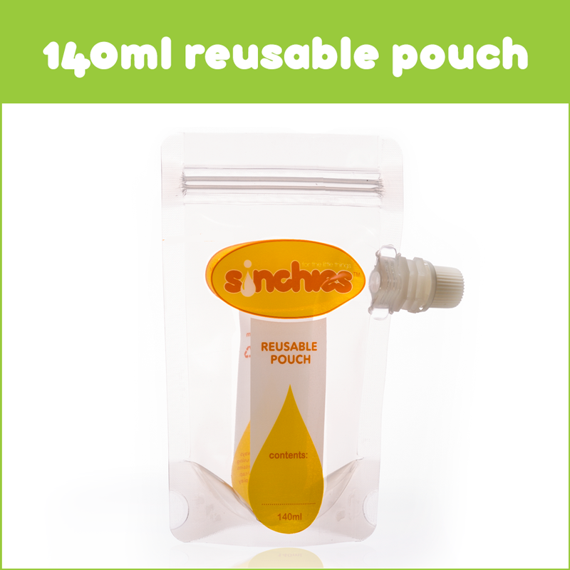 Sinchies 140ml Reusable Pouches