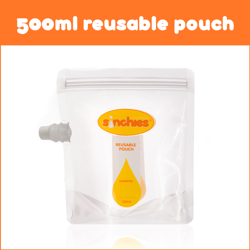 Sinchies 500ml Reusable Pouches