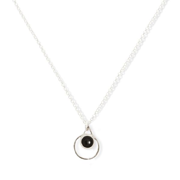 Small Single Chakra Pendant (Onyx)