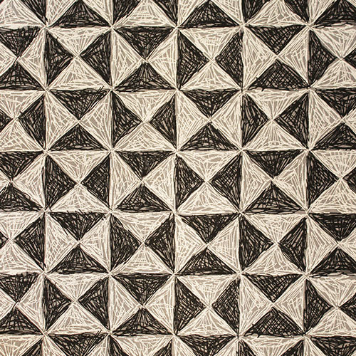 Chess Triangles rug
