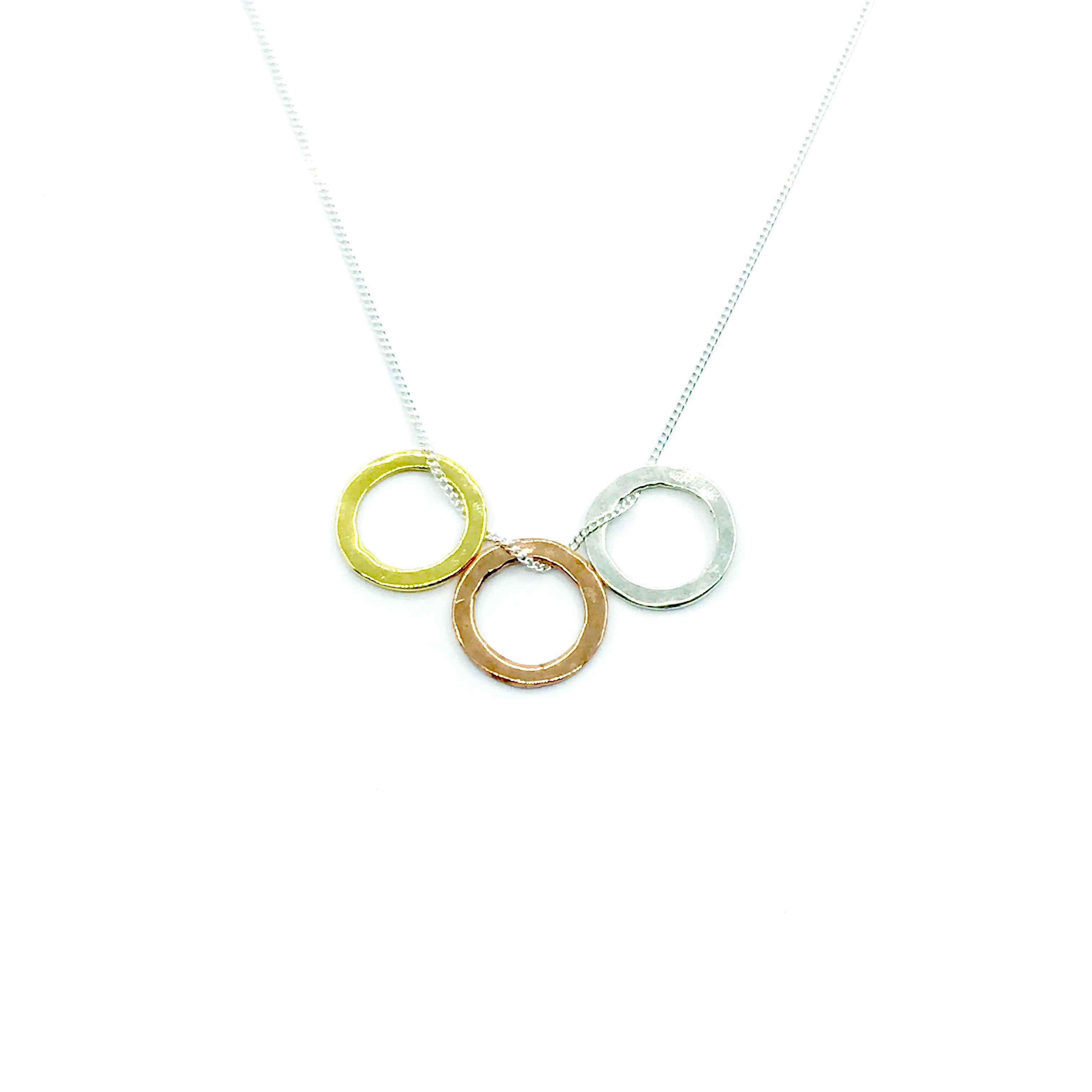 3 circle necklace spirit jewellery shop