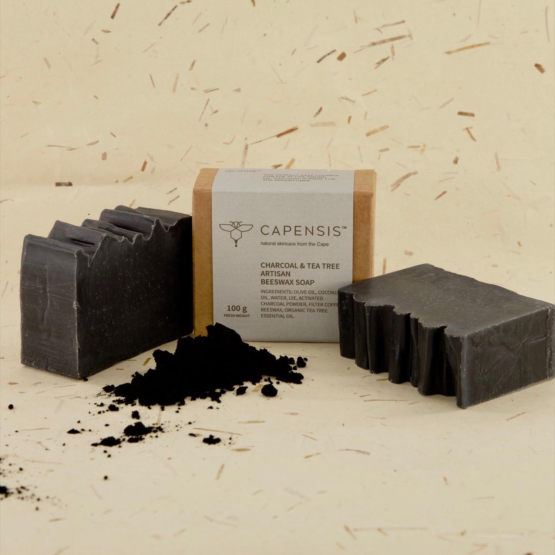 Charcoal & Tea Tree Natural Soap Bar