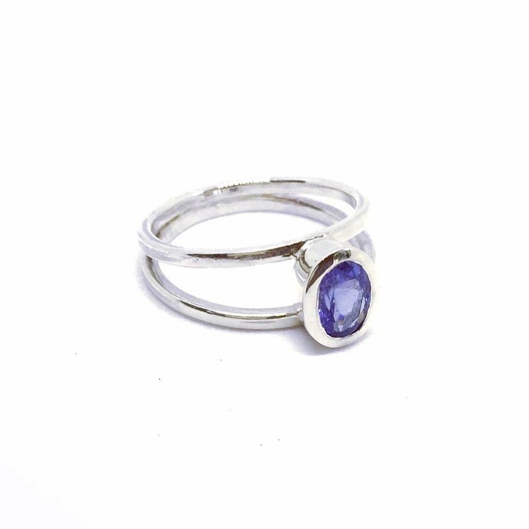 This beautiful ring is named after my grandmother. She loves blue and this is the most incredible Blue Tanzanite.
