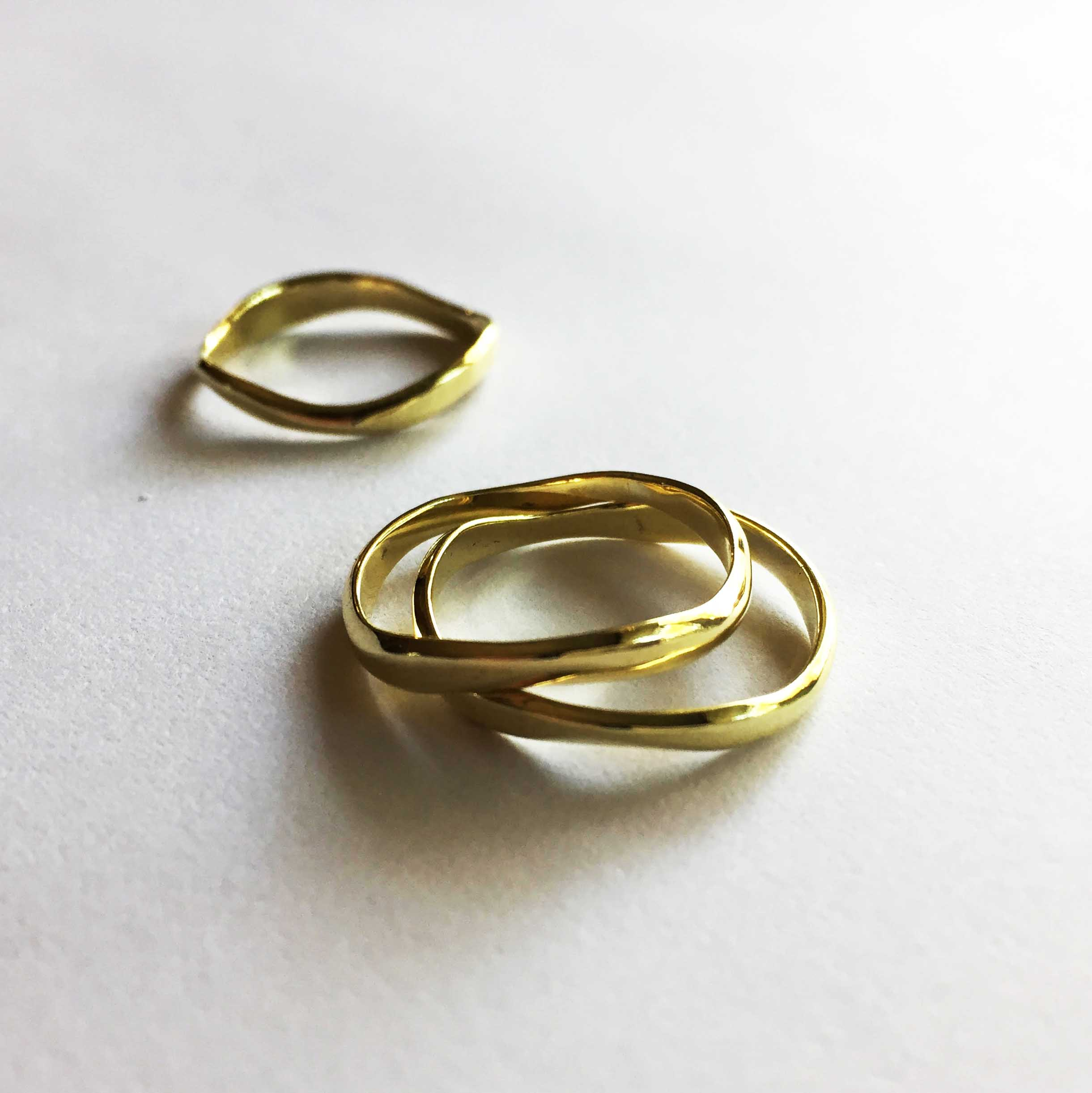 STACK RINGS - CURVE Rings