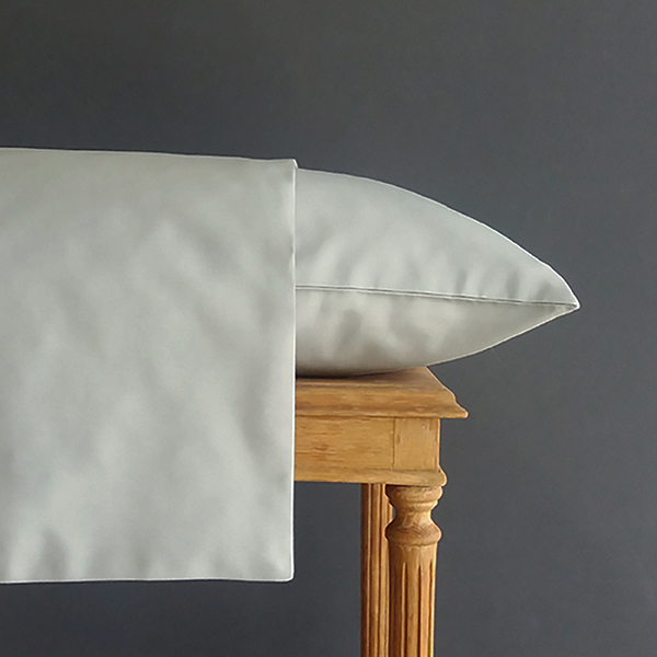 Signature Collection - Plain Pillowcases (2) - Oyster