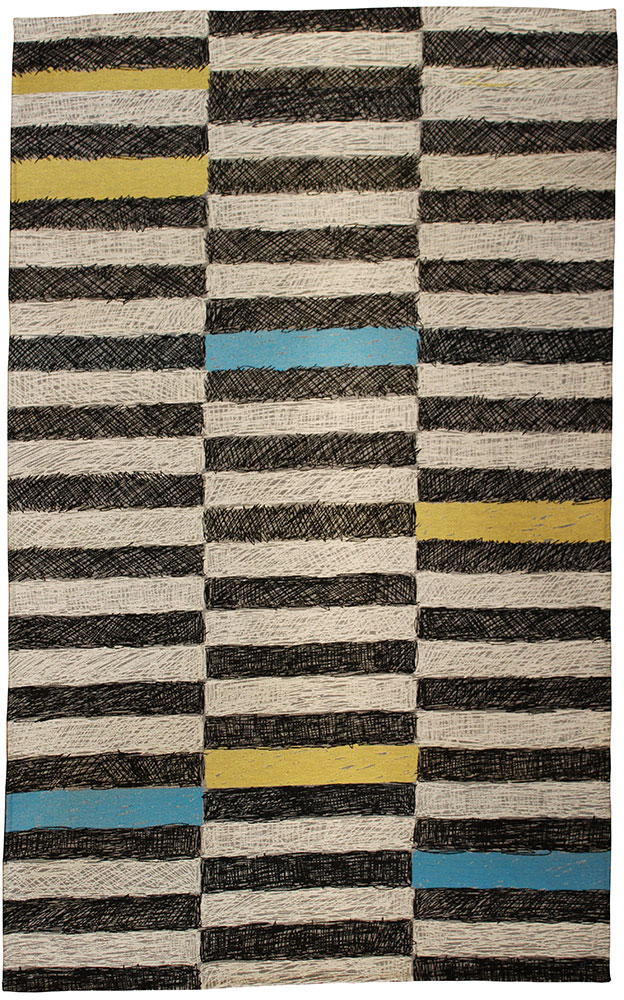 Stripes Spot Colour Rug