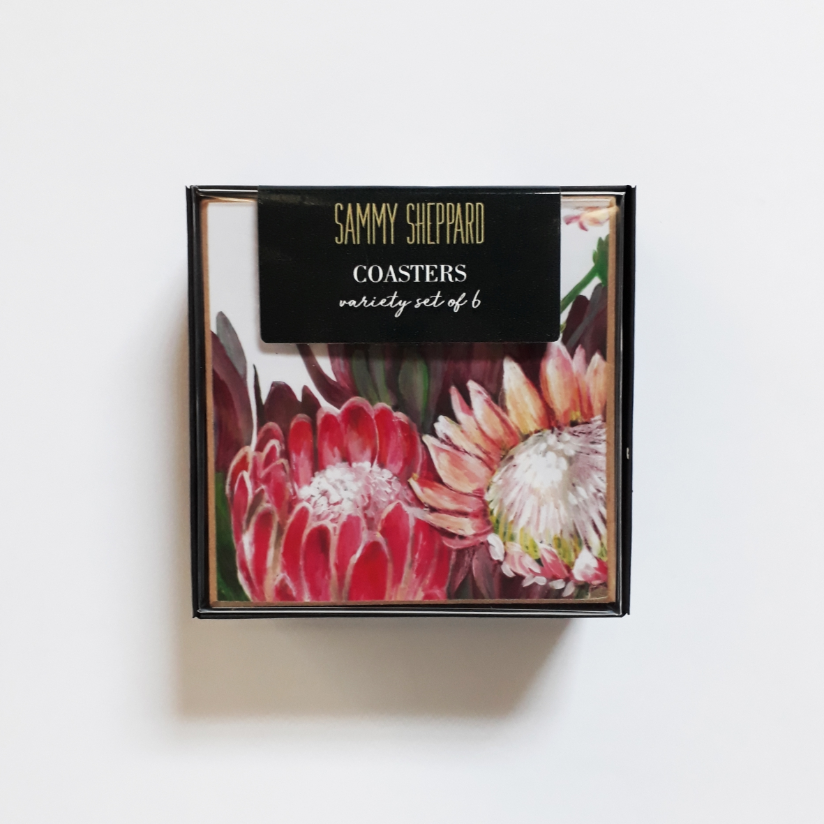 Lux Floral Coasters Box Set