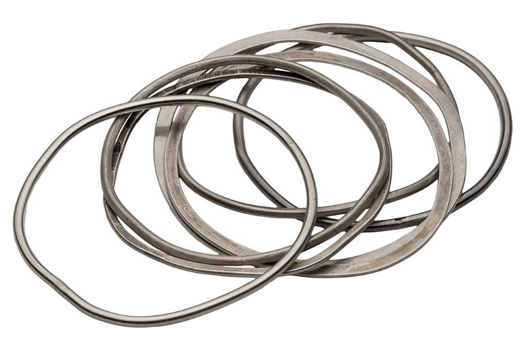 bangles flat or rounded 
