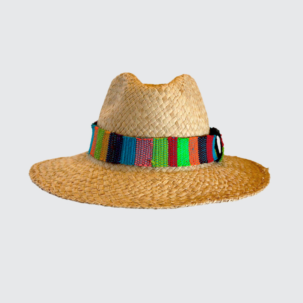 Keep your style Africool with our handwoven, raffia Fanela Hats in Natural, Black or Tan. One size fits all.
