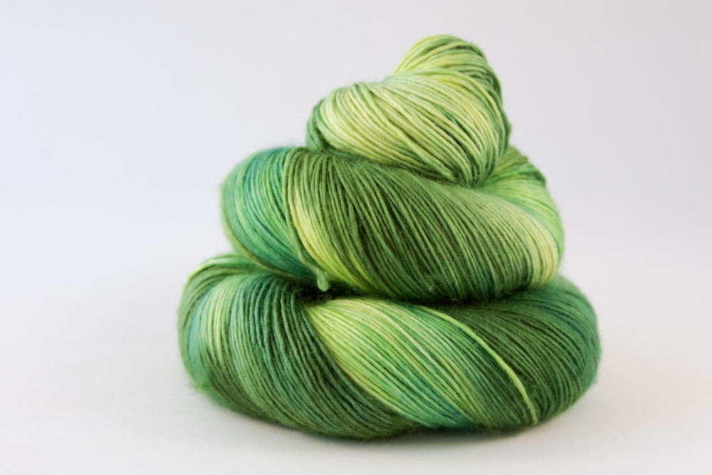 Colour - variegated grass, moss, new leaf, lime 