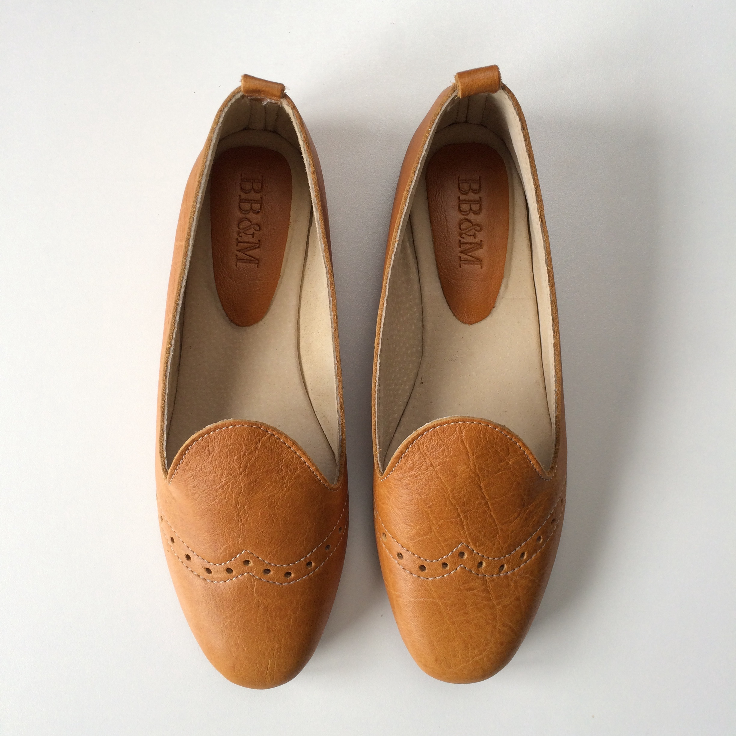 Ladies Tan Loafer - LF2
