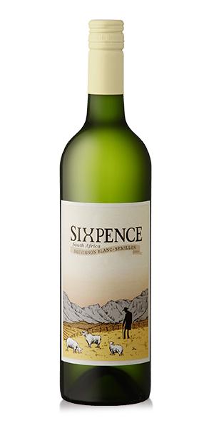 Sixpence White 2018 x6