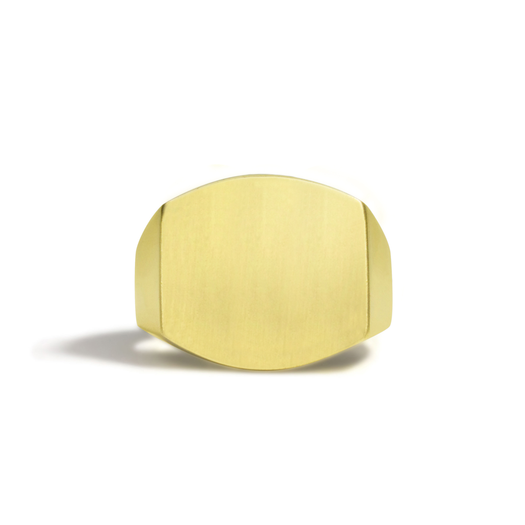 Solid Cushion Signet Ring