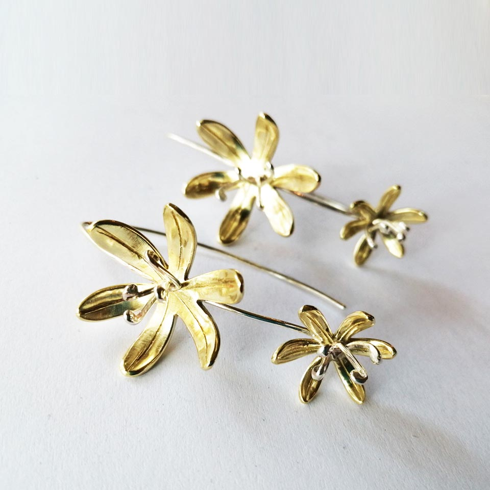 LILY Double Drop Earrings