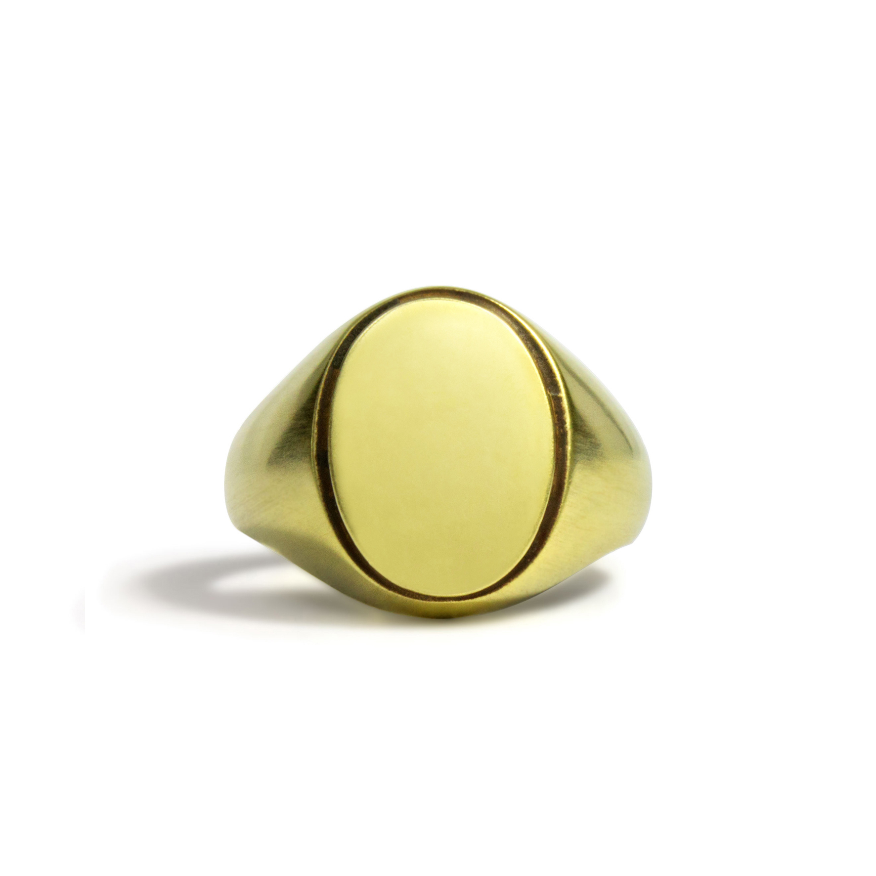 Solid Oval ring