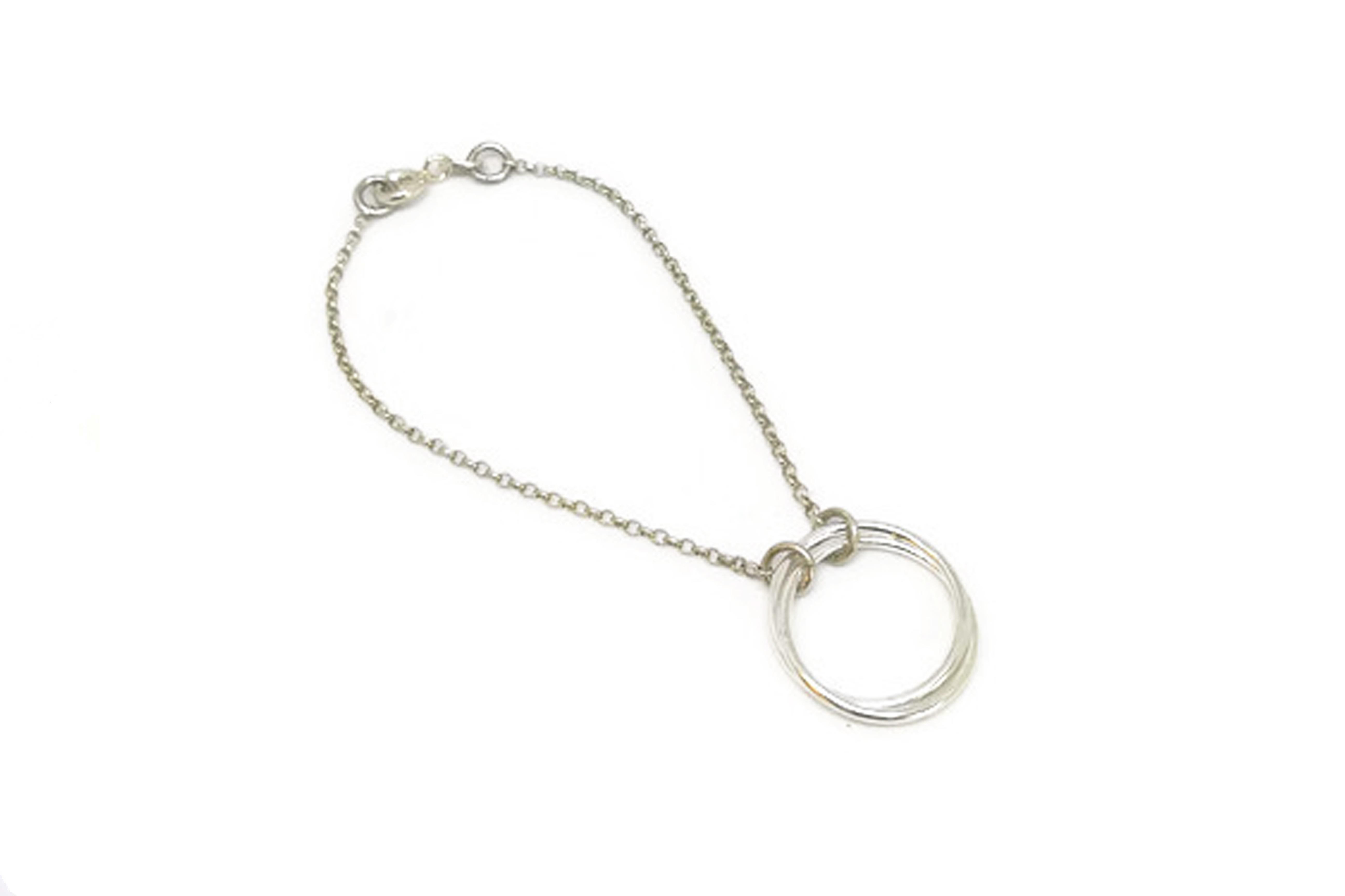 Silver anya bracelet